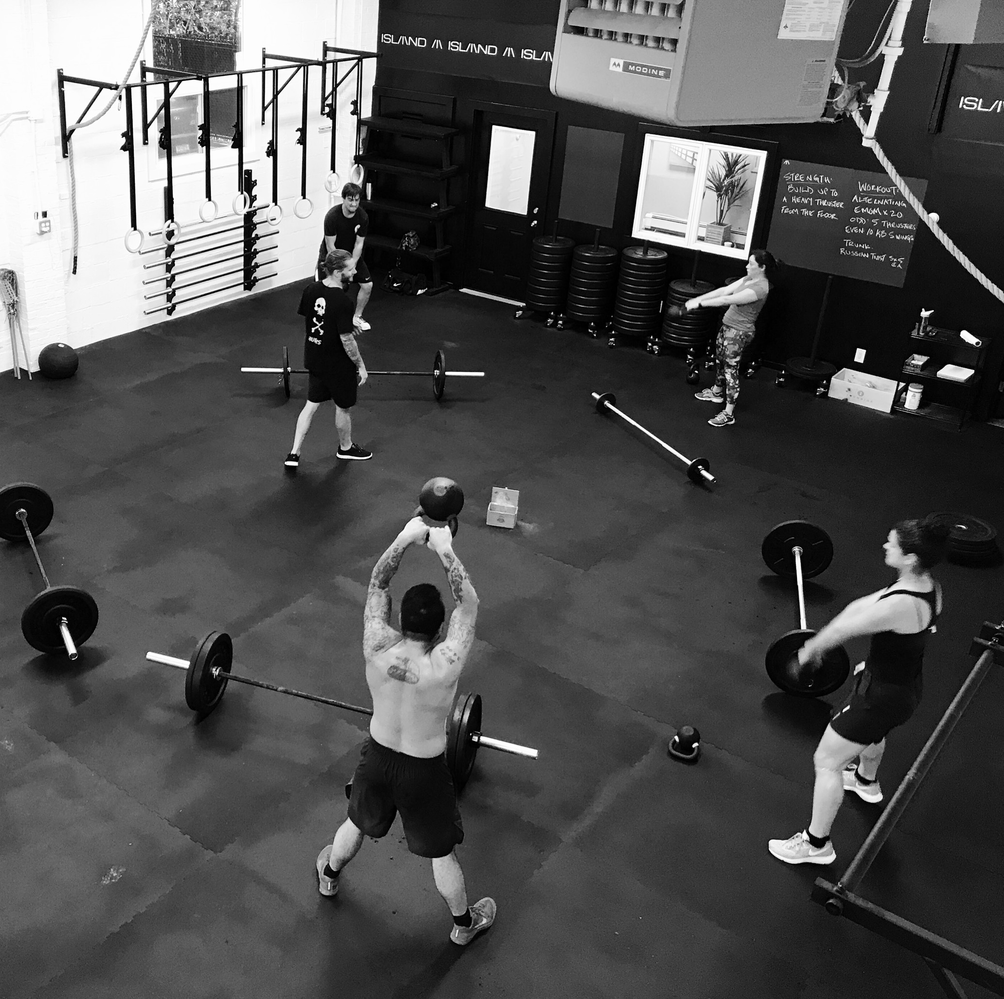 8 18 17 Crossfit Wod Island Athletics Training Workouts For Beginners